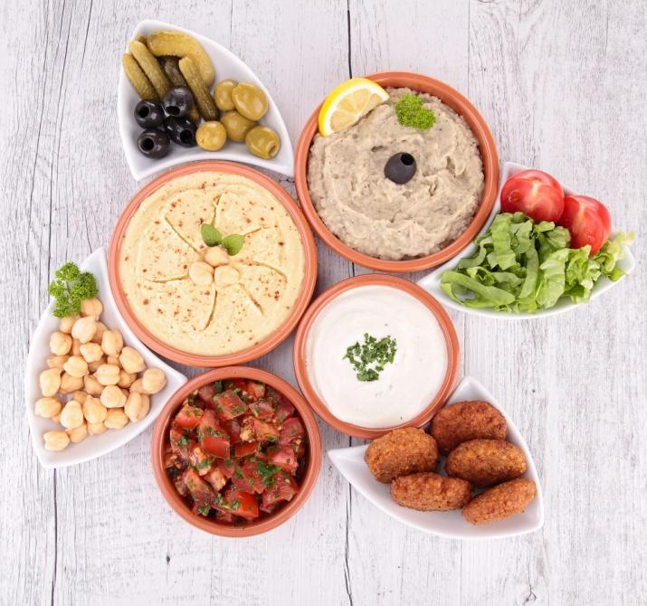 Kikerter sunt og proteinrikt