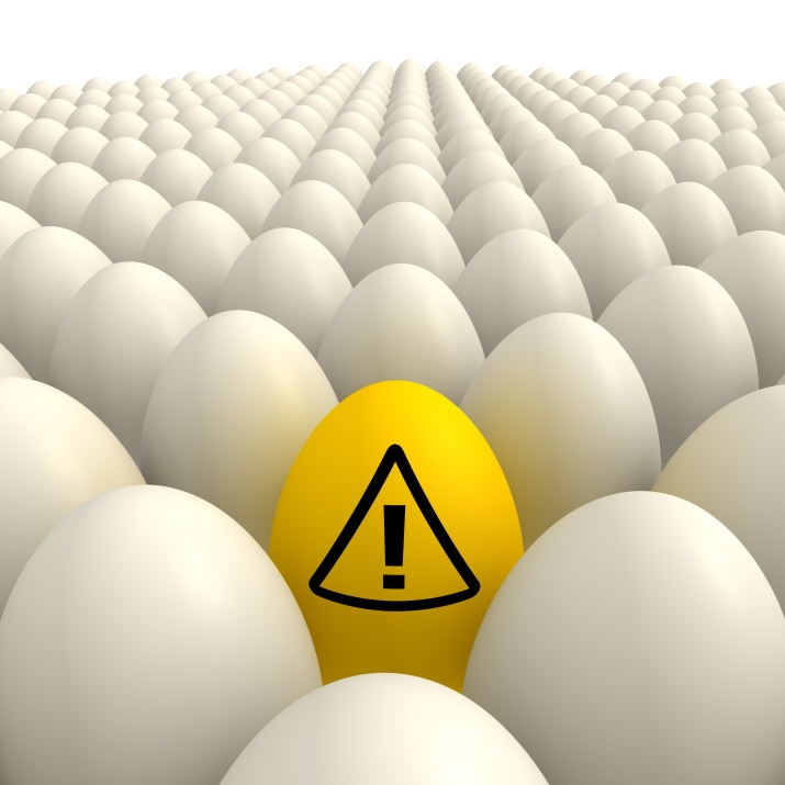 Egg kan øke risiko for hjerte- og karsykdom