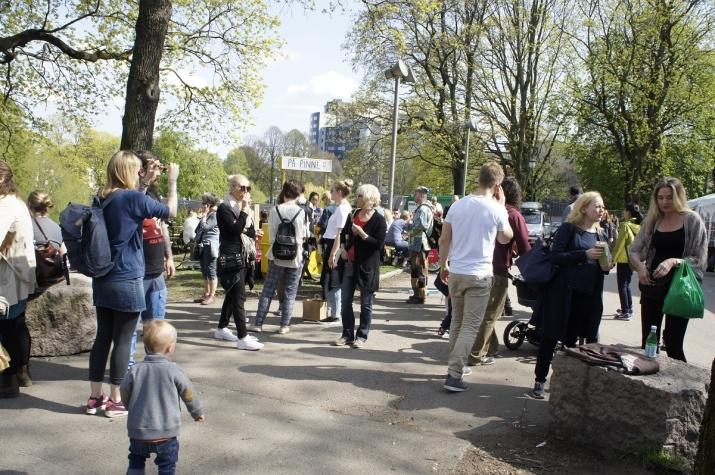 Fint vær Oslo Vegetarfestival 2016