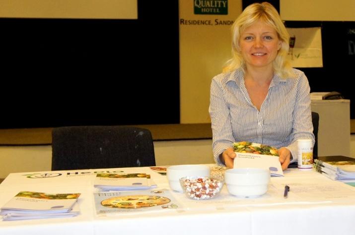 HePla fremmet plantebasert kosthold på Vegan Weekend i Sandnes