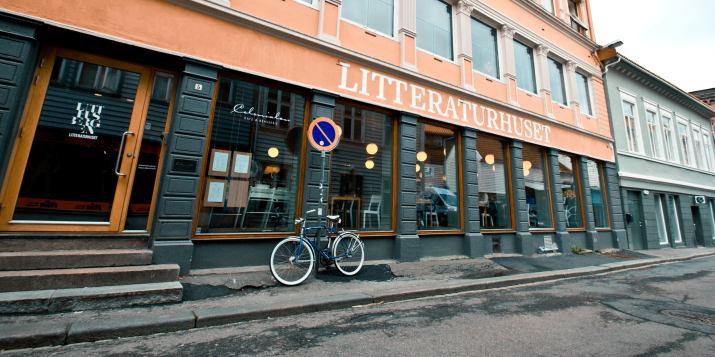 HePla på Naturvernforbundets arrangement på Litteraturhuset i Bergen