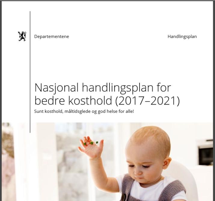 Handlingsplan for bedre kosthold 2017 - 2021