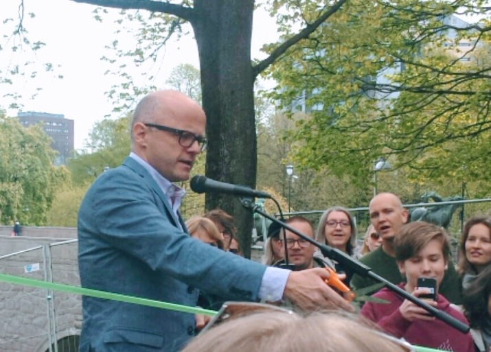 Vidar Helgesen Oslo Vegetarfestival 2017