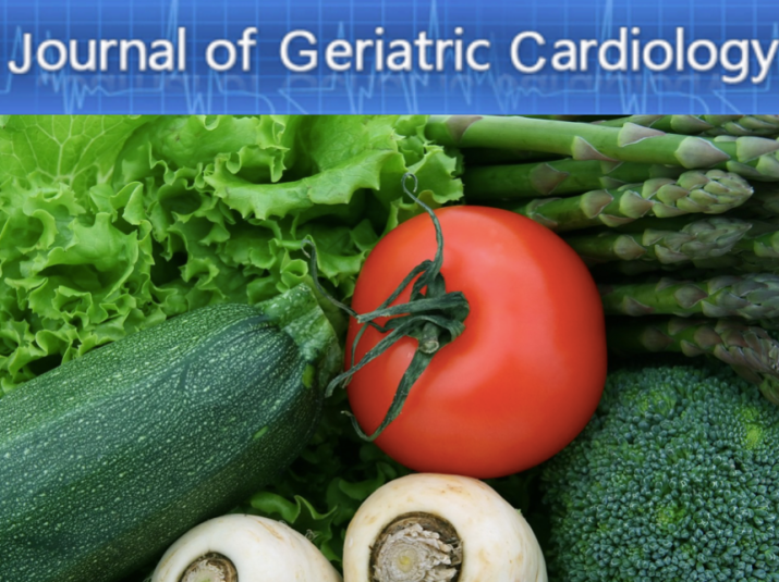 "Journal of Geriatric Cardiology har et eget temanummer ""A Plant-based diet and cardiovascular disease""."